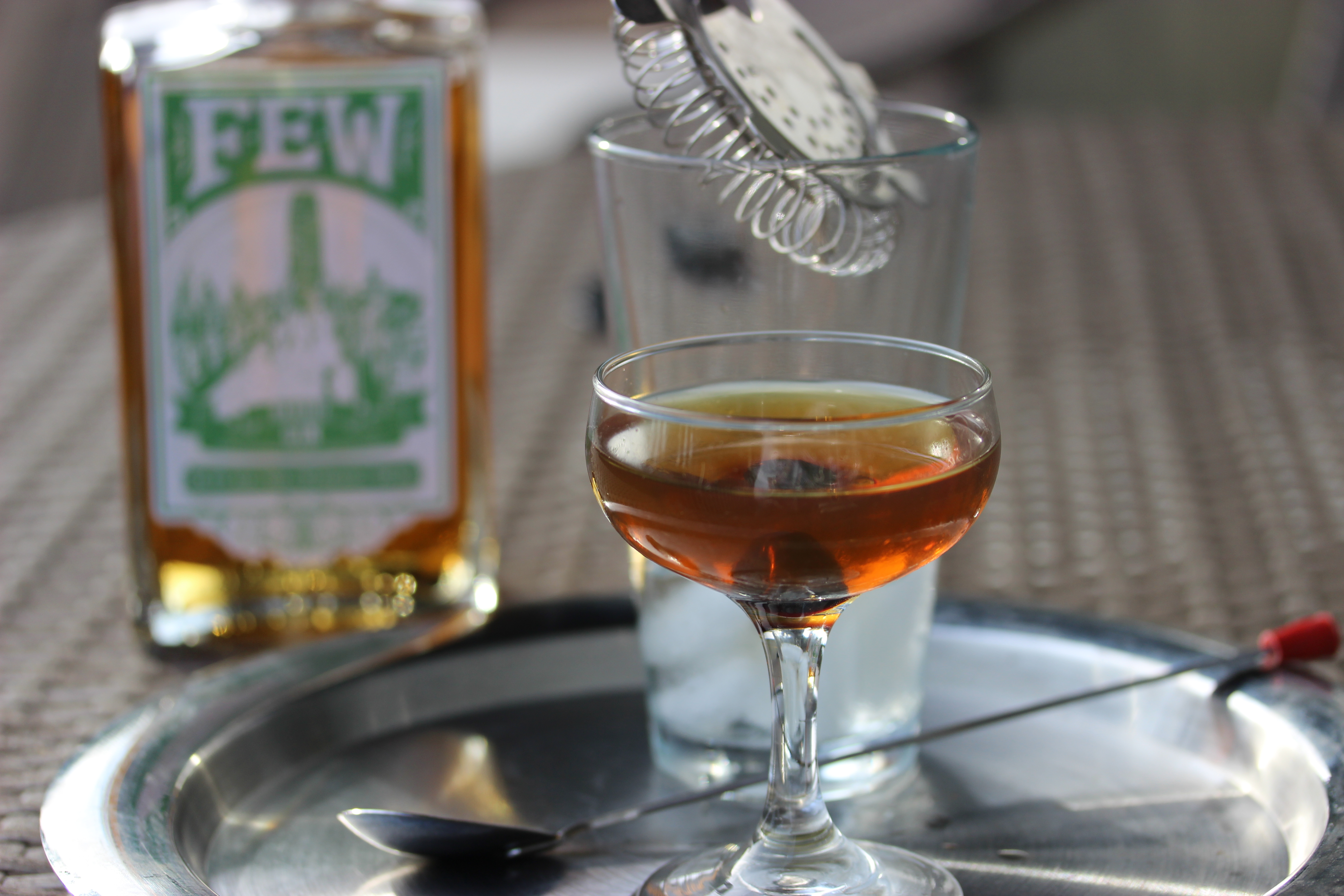 Few spirits booze business a blog dedicated to the business of recipe few barrel gin vermouth bitters malvernweather Choice Image
