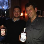 Paul Hletko and Ian Goddard of Blueprint Spirits at Whiskey Park