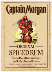 captmorgan label